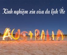 Những điều bạn cần lưu ý khi xin visa du lịch Úc