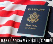 Thời hạn của visa Mỹ hiệu lực nhiều lần là bao lâu?