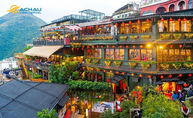 Một ngày ở Dã Liễu, Thập Phần và Cổ Phần của Đài Loan