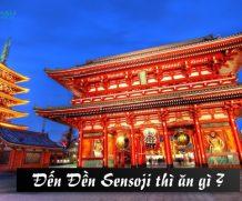 Ăn gì khi du lịch đến đền Sensoji (Nhật Bản)?