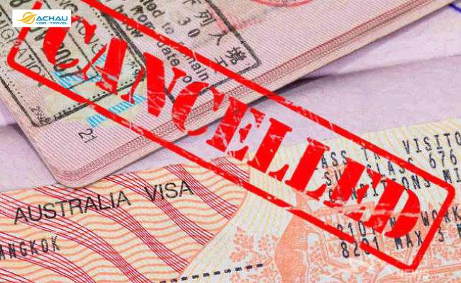 1. Xin visa Úc bị từ chối hoặc hủy bỏ thì phải xử lý như thế nào?