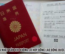 Xin visa Nhật Bản khi không có hợp đồng lao động được không?