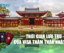 Thời gian lưu trú của visa thăm thân Nhật Bản