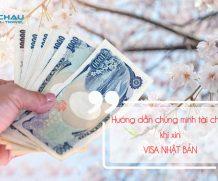 Hướng dẫn chứng minh tài chính khi xin visa Nhật Bản diện du lịch