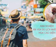 Chia sẻ kinh nghiệm xin visa Nhật Bản du lịch vào mùa cao điểm