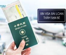 Qua Đài Loan thăm bạn cần xin visa diện gì?