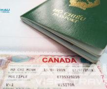 Xin visa Canada thăm chị gái có cần thư mời không?